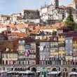 Overview of Old Town of Porto, Portugal — Stock Photo #66303653