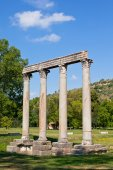 Ancient Roman Temple — Stock Photo