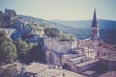 View of Saint Saturnin d Apt, — Stock Photo