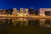 The Confluence District in Lyon, — Stock Photo