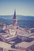 View of Saint Saturnin d Apt, — Stock Photo