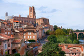 View of the Albi, France — Stock Photo