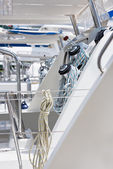 Sailing yacht detail — Stock Photo