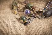 Biżuteria handmade — Zdjęcie stockowe