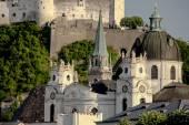 Beautiful view of Salzburg — Stock Photo