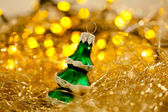 Toy of the christmas tree — Stock Photo