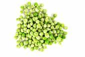 Heap of frozen peas — Stock Photo