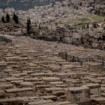 Ancient Jewish cemetery — Stock Photo #59435941