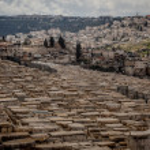 Ancient Jewish cemetery — Stock Photo #59435961