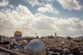 耶路撒冷旧城的地标 — 图库照片