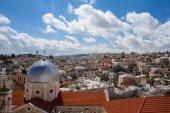 Marcos históricos da cidade velha de jerusalém — Fotografia Stock