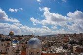достопримечательности старого города иерусалима — Стоковое фото