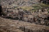 старинное еврейское кладбище — Стоковое фото