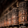 Prayer wheels in Nepal — Stock Photo #60208661