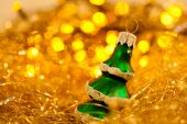 Beautiful toy of the christmas tree — Stock Photo