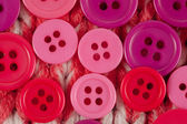 Circle Sewing Buttons — Stock Photo