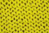 Bright yellow woven background — Stock Photo