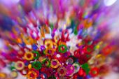 Rainbow Color confetti — Stock Photo