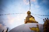 Swayambhunath Stupa taken in the Kathmandu — Stock Photo