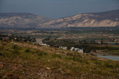 View of Jordan, Israel — Stock Photo
