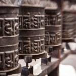 Prayer wheels, Nepal — Stock Photo #61614563