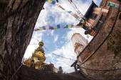 Stupa di swayambhunath, kathmandu — Foto Stock