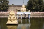 Kamakshiamman Temple in Kanchipuram. — Stock Photo