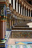 Plaza de Espana Sevilla — Stock Photo