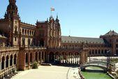 Plaza de Espana Sevilla — Foto de Stock