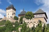 Royal castle Karlstejn, Czech Republic — Stock Photo