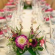 Festive table settings — Stok fotoğraf #55240807