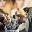 Cosmetic brushes for makeup — Stock Photo #57783291