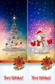 Abstract celebration greetings with Christmas illustrative eleme — Cтоковый вектор