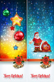 Abstract celebration greetings with Christmas illustrative eleme — Stockvektor