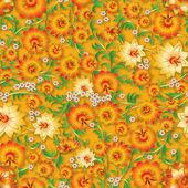 Abstraktní bezešvé květinový ornament a stíny — Stock vektor