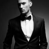 Handsome stylish man — Stock Photo