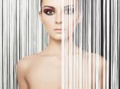 Elegant futuristic lady — 图库照片