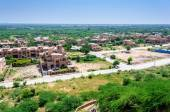 View of Jodhpur city from Umaid Bhawan — Stockfoto