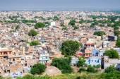 Jodhpur, the blue city as seen from Jaswant Thada — Stock Photo