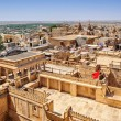 Birds eye view of Jaisalmer city from Golden Fort of Jaisalmer, — Stock Photo #80918708
