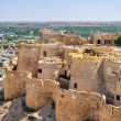 Birds eye view of Jaisalmer city from Golden Fort of Jaisalmer, — Stock Photo #80918758