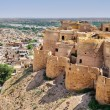 Birds eye view of Jaisalmer city from Golden Fort of Jaisalmer, — Stock Photo #80918810
