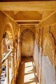Corridor inside museum of Golden Fort of Jaisalmer, Rajasthan In — Stock Photo