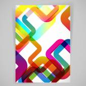 Abstrakt mit abgerundeten design-elemente. — Stockvektor