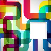 Abstraktní pozadí se zaoblenými prvky. — Stock vektor