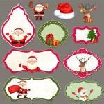 Christmas label set — Stock Vector #59765505
