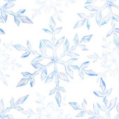 Snowflakes christmas patterns — Stock Vector