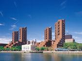 Manhattan. Harlem quay. — Stok fotoğraf