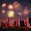 Fireworks over NYC — Stock Photo #57721475