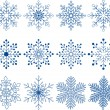 Snowflake Vector Set — Stock Vector #57589617